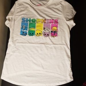 Shopkins high low shirt XL 14/16